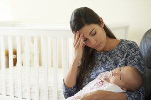 A recently published study shows that new moms can benefit from psychotherapy to help with postpartum depression.