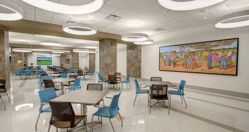 Dell Seton Medical Center Dining Room