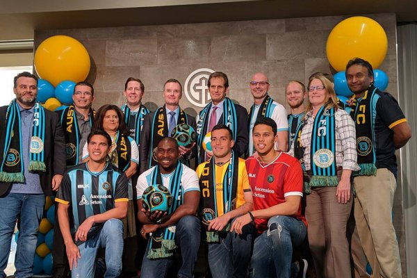 Image for Austin Bold FC announces Ascension Seton as official jersey and medical partner