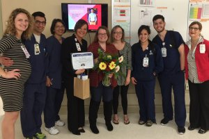 Tracy Robison Nurse of the Year