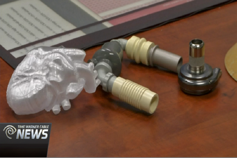 Image for UT Student Makes Human Heart Model on 3D Printer featured on austin.twcnews.com