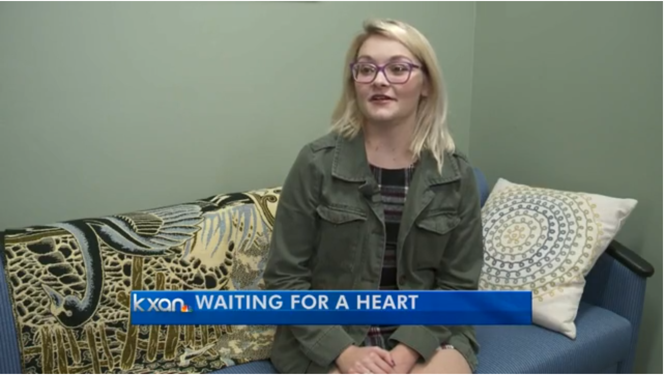 Image for Young heart recipient awaits second transplant featured on kxan.com