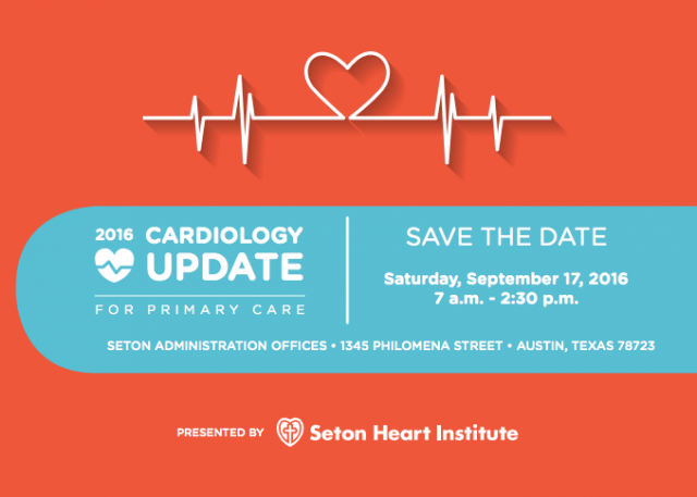 2016 Cardio Update Save the Date